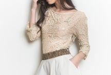 Knitwear Love. Autumn. / http://danabuf.com/creatii/