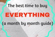 Η καλύτερη στιγμή να αγοράσεις οτιδήποτε