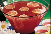 punch and party drinks / by Terri Shanklin