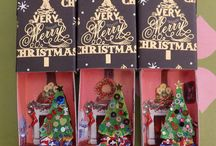 Crafts: Altered matchbox shrines Ornaments! / by Gina Strickland