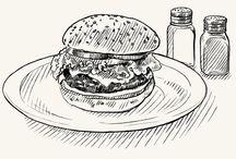 Food / Hamburger