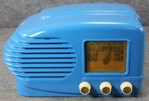 Blue  Radios & Televisions & Pickups