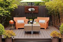 Backyard ideas / Putting together possibilities for our little backyard