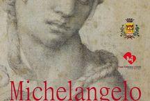 """mostra MICHELANGELO. CAPOLAVORI GRAFICI / Nell'anno in cui tutto il mondo onora il 450° anniversario della scomparsa di Michelangelo Buonarroti fino al 31 agosto 2014 la mostra MICHELANGELO. CAPOLAVORI GRAFICI propone 18 straordinari disegni, tra cui il """"Volto virile"""" per la Cappella Sistina, il """"Sacrificio di Isacco"""" e, soprattutto, la """"Cleopatra"""", capolavoro assoluto, opere selezionate dalla collezione grafica di proprietà della Fondazione Casa Buonarroti di Firenze, costituita da 250 fogli di grande pregio e di inestimabile valore."""