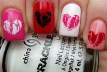 Valentine's day nails / by Maranda Koch