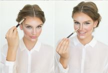 Hair & makeup / Everything from hair, makeup contouring...just heaps of helpful tips for myself