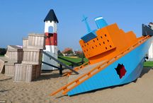 *KIDS IN THE CITY* / There you'll find the collection of best playgrounds all over the world where kids feel happy