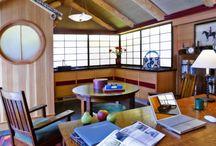 Japanese studio / Design of a Japanese style studio office