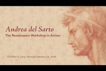 Andrea del Sarto: The Renaissance Workshop in Action at the Frick Museum in 2015/6 / Images and reviews from the exhibition, Andrea del Sarto: The Renaissance Workshop in Action