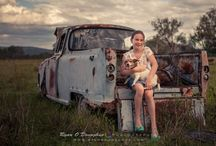 My Family /  A photo shoot we did as a family, taken near Boonah, QLD