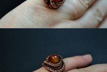 кольца из проволоки