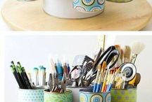 crafts made out of recycled stuff