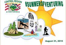 #SummerofVenturing / Central Region Venturing trending social media