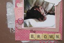 scrapbook puppy