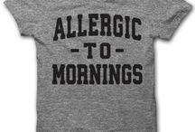 good lines for tee shirts and mugs