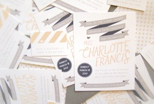 Invitations / by samantha @ the stroller coaster