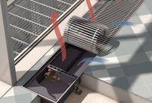Конвекторы внутрипольного отопления Kampmann / Внутрипольные конвекторы. Высокая тепловая производительность – основной фактор неизменного качества, которым и славятся встраиваемые в пол конвекторы Kampmann
