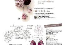 Цветы вязка