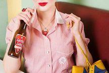 Coca cola girl