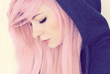 Pink hair / Haare