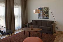Malmö Arena Hotel / På Malmö Arena Hotel er gardinerne et aktivt element i indretningsdesignet.