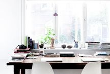 Work from home dream - Office Inspo / Beautiful home office spaces. One day, one day!