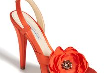 scarpe arancio