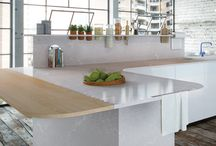 """White Kitchens by Caesarstone / """"White Kitchens"""" is an impressive display of kitchen designs, new ideas and inspirations showcasing Caesarstone's white colour palette."""