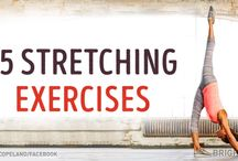 Exercise goals / Exercises I would like to have the time to do!