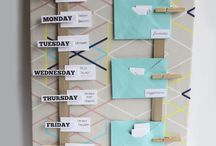 Meal planning board