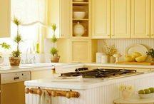 Yellow kitchen?? / by Lise B.