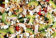 Salad inspiration / Tasty and healthy - makes my mouth water!