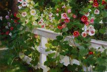 Цветы живопись