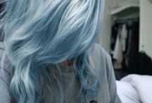 CABELO AZUL ✨ / Essa pasta é cheia de inspirações MARA para quem ama cabelo azul, turquesa..!