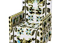 Yoruba Beaded Chairs / Original, handmade Yoruba beaded chairs from Nigeria that are found here at Design MIX furniture.