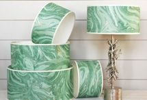 Marbelling Effects / From walls to furniture, marbelling effects have made a come back in the world of interiors.