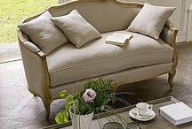 """Гостиная в стиле """"Прованс"""" / Интерьеры гостиных комнат с использованием французской мебели от бренда Du Bout Du Monde"""
