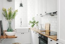home decor: kitchen / Kitchen ideas, from minimalist to shabby chic