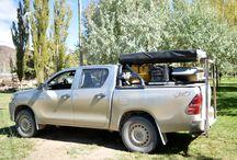 camioneta vacaciones