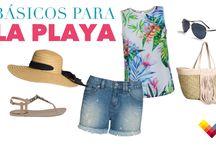 Básicos para la Playa / Encuentra el atuendo ideal para estas vacaciones.