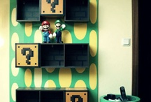 Geek stuff for home and living / Furniture and decoration for the geek inside of us  :) / by Valerie Michel