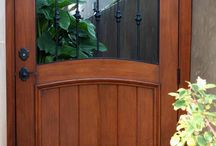 wooden doors and gate ideas