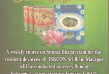Bhagavata Vicara / Bhagavata-vicara, a weekly study of the Srimad-Bhagavatam, in English and Bengali for the Residential devotees. One chapter is covered every week