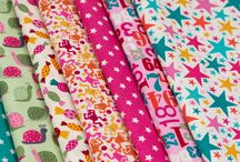 Little Monsters / Fabric collection designed by Makower UK