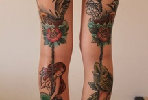 Tattoos   / by Sandy Parrott