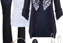 Dark blue cardigan