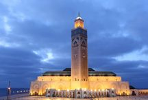 Casablanca / The architectural legacy of Casablanca is one of its touristy treasures http://www.augustuscollection.com/architectural-legacy-casablanca-one-touristy-treasures/ / by Augustus Collection
