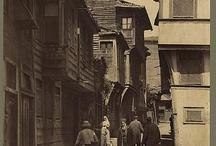ıstanbul old street / ıstanbul şehir tarihi.