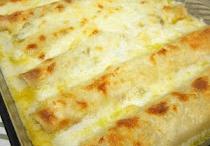 White chicken enchiladas / White chicken enchiladas