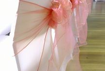 Chair Covers & Table Linen / We specialise in DIY hire for lycra chair covers, sashes & table linen.